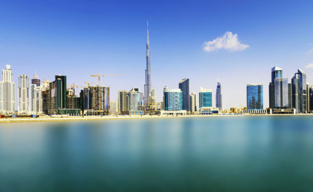 34391902 – dubai skyline, united arab emirates