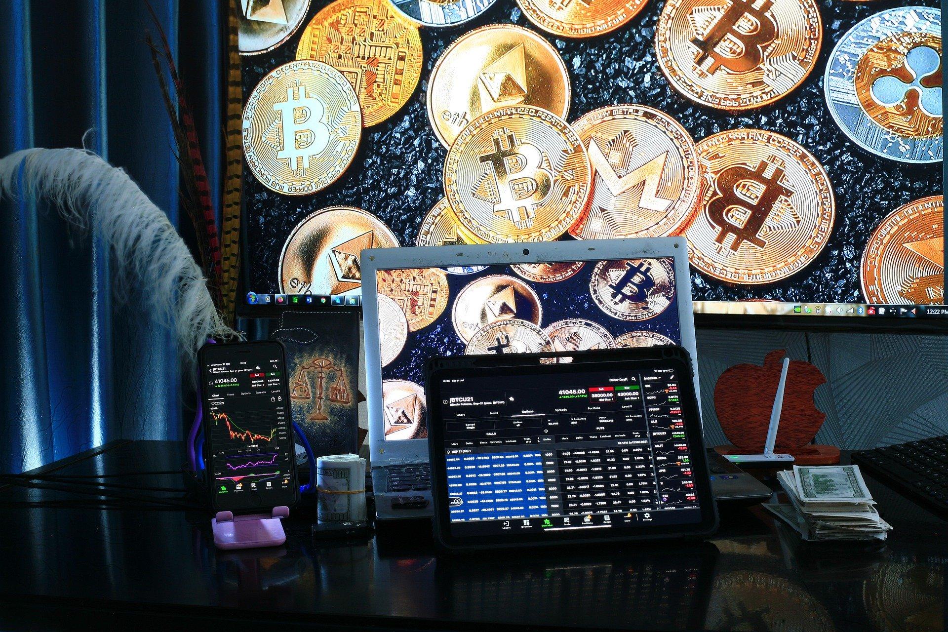 Obchodování s kryptoměnami na portálu Interactive Brokers